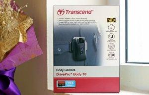 Đánh giá nhanh camera gắn người Transcend DrivePro Body 10