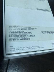 Iphone 7 plus, đen nhám, 128G, mới xài 2 tháng, full box ...