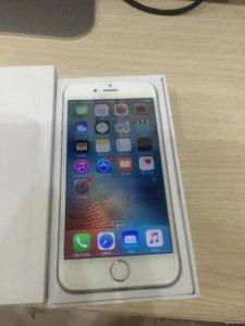 iPhone 6 16Gb silver new 99% fullbox . quốc tế mỹ .