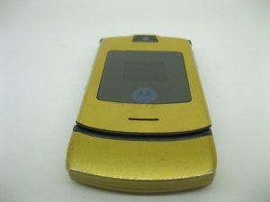 """Motorola V3i """"Màu Vàng Gold"""" nguyên zin cực đẹp"""