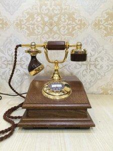 Điện thoại cổ mạ vàng Lyon xuất sứ Italy 1960 !