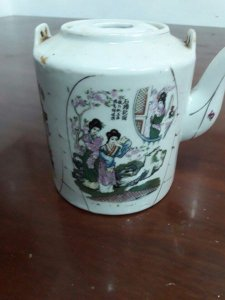 Bình trà Nhật xưa lành tít