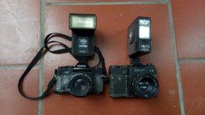Máy ảnh xưa deco