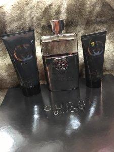 Giftset Gucci Guilty nam edt + Nước hoa 90ml + After shave ( kem cạo râu) 75ml + Sữa tắm 50ml