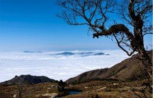 Săn mây bồng bềnh ở núi Chiêu Lầu Thi  9 tầng thang tại Hà Giang