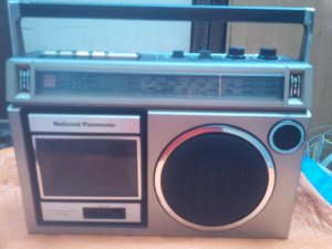 Cassetle radio National Panasonic RX-1550