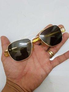 kính pilot bọc vàng 12k