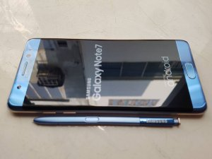 Bán/ Đổi Samsung Galaxy Note 7 N930V 64GB blue coral USA sạc pin 100%