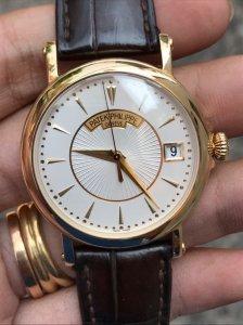 Patek Philippe 5153 vỏ vàng đúc 18K zin Thuỵ Sỹ toàn bộ 100% Size 38mm