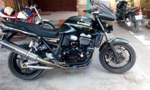 Cần bán Kawasaki ZRX1200 date 2004 Fi -Xe máy móc êm ái, nguyên zin, dàn ngoài đẹp