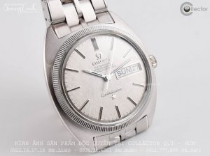 (MS: 103) Omega Constellation 2 Lịch (18k White Gold)
