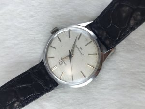 Omega Seamaster 30 Mechanic SS Cal286 dial's Textured Satin original