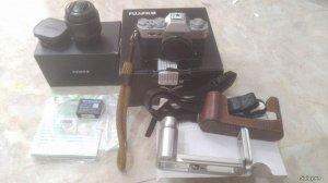 Bán fujifilm xt10 bạc, chính hãng lịke new và lens 35 f1.4 like new