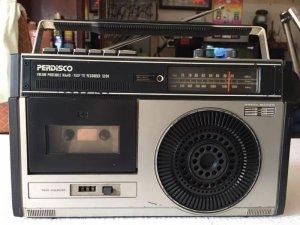 Radio Cassette Hitachi TRK-5200 + National RX1540