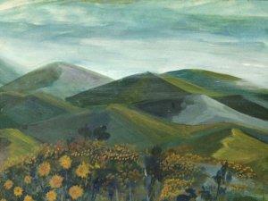 Tranh sơn dầu vẽ phong cảnh