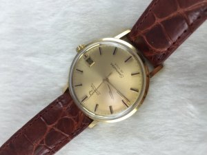 Omega Seamaster Deville Automatic solid 18k gold Case & Dial Case & Dial Cal565