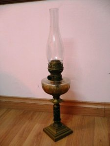 Đèn dầu cổ