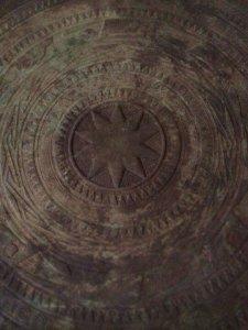 Trống đồng Đông Sơn, đường kính 42cm