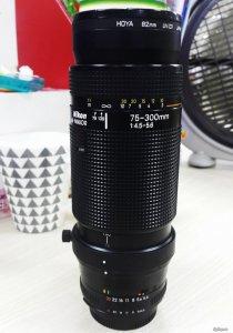 Lens tele Nikon 75-300 & sigma 70-300D