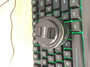 Len Canon EOS-M 22mm STM