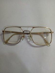 Mắt kính (MS20) AO SAFETY 140Z87- Gọng Xi vàng - Đồ Xưa -  -800k