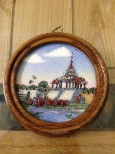 Tranh đá quý Myanma