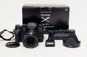 Cần bán combo Fujifilm X-T1 kit 18-55 grip VG-T1 Fullbox xách tay Nhật