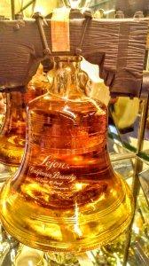 Rượu Sưu Tầm Lejon California Brandy hình Qủa Chuông và Garnier France