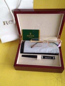 Kính Rolex mạ vàng hồng 18k xách tay úc