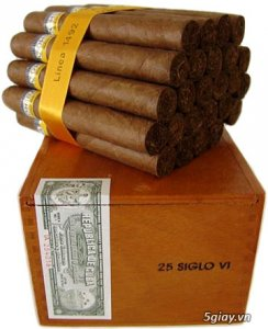 Bán Cigar Cohiba Siglo VI - Hộp (10 - 25 điếu)