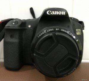 Body Canon 60D + Len Fix 50 1.8 + Len Tamron AF 19-35mm cần bán