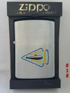 Z.838 __brushed chrome 1988 __tàu ngầm USS OMAHA