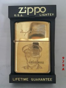Z.979A _solid brass 1994 __tướng Eisenghower