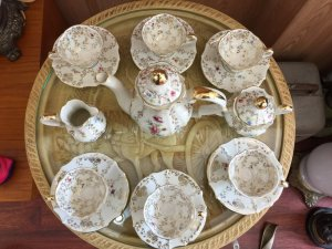 Bộ trà châu âu
