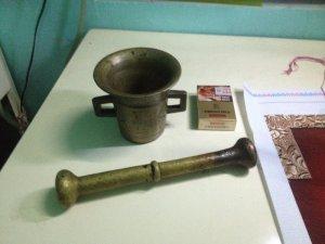 Nhờ thẩm định bộ cối chày bằng đồng k rõ nguồn gốc
