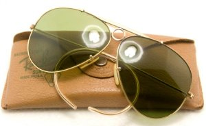 Rayban Shooter made in USA 1960' RB3 62mm