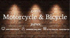 Chuyên Bán các loại Phụ tùng Nhật : yên da, pedal, sườn, lip, mayor......