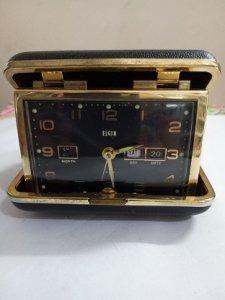 Đồng hồ để bàn hiệu ELGIN JAPAN- Đồ xưa - hàng xách tay từ Mỹ-1 tr