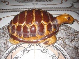 Ba ba, rùa sứ trang trí nhà dài 25-27 cm chỉ có 2 con duy nhất.