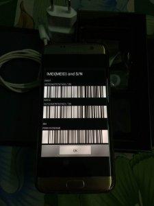Bán or giao lưu Samsung S7 Edge màu Gold
