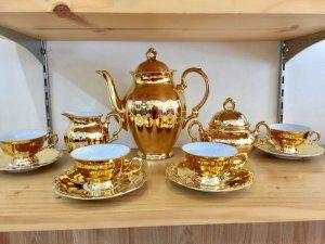 Bộ uống trà châu âu