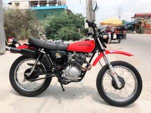 Honda XL 230-date 2002-ODO 7000km -Zin nguyên -sơn-xi-máy chưa đụng chạm