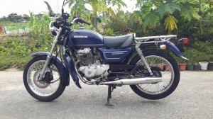 Honda CDU250 date 1988 , nguyên zin, máy êm, chưa sử dụng tại Việt Nam!
