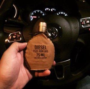 Diesel FuelForLife đơn giản là một mùi rượu nhẹ nhàng
