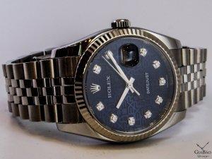 Đồng hồ Rolex DATEJUST 116234 Diamond Blue Jubilee Dial