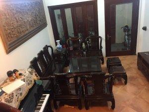 Bộ bàn ghế gỗ trắc Hà Nội