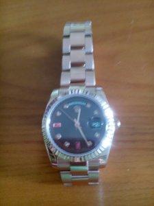 Đồng hồ Rolex vàng đồng 18k automatic xách tay Thụy sĩ