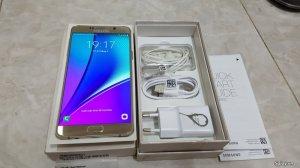 Samsung note 5 gold32g BH1/2018 TGDĐ