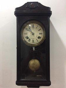 Đồng hồ treo tường cổ Nhật Bản