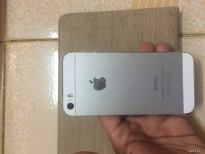 iPhone 5s 32g quốc tế silver 98%